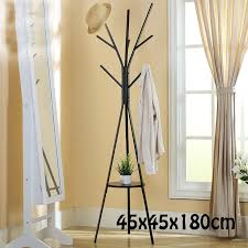 Metal Coat Rack Tree Metal Tree Style Coat Stand 100X100X100CM Floor Type Hanger Creative 16