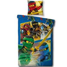 lego ninjago duvet cover single 140 x 200 cm multi