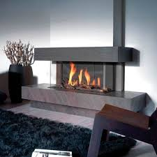 awesome three sided fireplace 2 3 sided gas fireplace