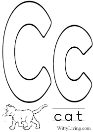 Small Picture Coloring Pages Letter C Kids Crafts for Kids to Make Crafts