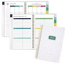 planners weekly monthly at a glance emily ley customizable planner weekly monthly