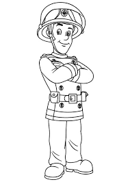 Small Picture fireman sam coloring page 100 images sam coloring picture