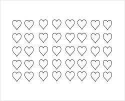 8 X 10 Heart Template Free Heart Shape Template Templates Design 8 Inch