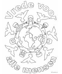 Vrede Kleurplaat Kerstmis Christian Kids Crafts Kids Church En