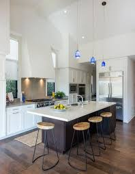 lighting above kitchen island. Modern, Blue Pendant Hung Over A Kitchen Island. Bring Style And Designer Look Lighting Above Island I