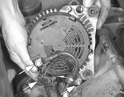 repair guides charging system alternator autozone com 1987 Ford Alternator Wiring at How To Test Alternator Wiring Harness