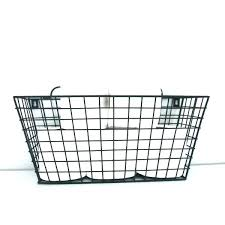 wire baskets for walls gray wire wall basket with rod wire baskets