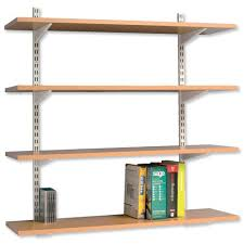 office wall shelving systems. Image For Kelly Office Suppplies: Unspecified ID: 6596 Adjustable Wall Shelving System Systems H