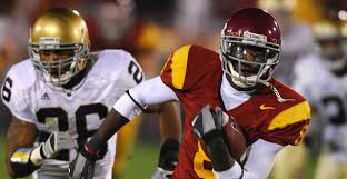 2005 Usc Football Roster Moments In Time Dwayne Jarrett Beats Notre Dame On 4th 9