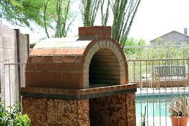 diy wood fired pizza oven design outdoor plans creative backyard brick p