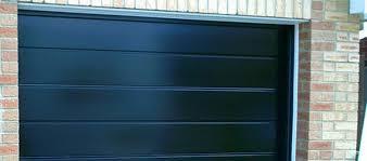 black garage doorBlack Garage Doors in Macomb County MI  A1 Garage Door Service