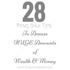 28 feng s wealth tips money corner