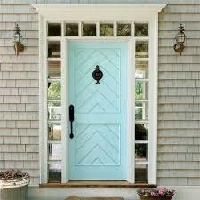 turquoise front doorRemodelaholic  50 Beautiful Doors  Front Door Paint Colors