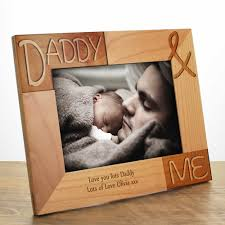 me and my daddy photo frame