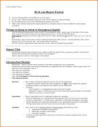 Chemistry Lab Report Template 14 Laboratory Report Templates