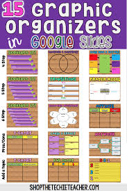 Insert Venn Diagram In Google Slides Digital Graphic Organizers In Google Slides Educational