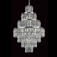 impex cf03220 08 ch new york 8lt polished chrome ceiling chandelier
