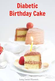 this delicious diabetic birthday cake recipe has a sugar free vanilla cake with sugar free chocolate