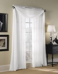 Marvelous Images Of Window Treatment Design And Decoration With Various  White Curtain : Inspiring Picture Of
