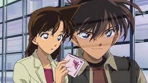 Kudo Shinichi, Mouri Ran   Detective conan, Conan, Conan movie