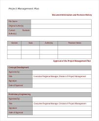 Project Management Templates 16 Simple Project Management Templates Word Pdf Docs Free
