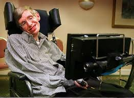 stephen hawking shown at an appearance in santa clara in 1996 contracted als when