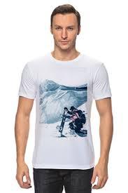 """Мужские футболки c популярными принтами """"snowboard"""" - <b>Printio</b>"""