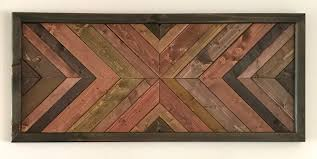 ingenious inspiration ideas rustic wall art decoration large wooden geometric quilted decor australia uk for bathroom
