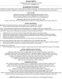 Extra Curricular Activities In Resume Sample