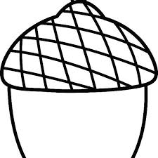 Acorn Pictures To Color Acorn Number Coloring Page Acorn Coloring