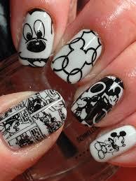 Canadian Nail Fanatic: Digit-al Dozen Does Vintage; Day 2 | Mickey nails,  Disney nails, Mickey mouse nails