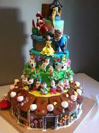 11 Best Disney Cakes Photo Disney Birthday Cake Ideas Disney