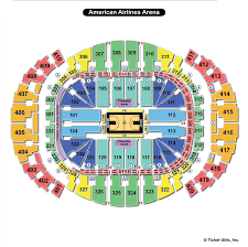 Aaa Miami Heat Seating Chart Americanairlines Arena Miami Fl Seating Chart View