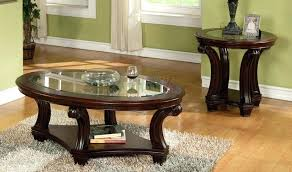 dark wood end tables round dark wood coffee and end table sets round coffee tables dark