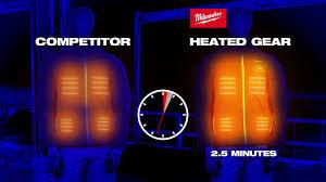 Milwaukee Heated Jacket Light Colors M12 Heated Gear And Apparel Milwaukee Tool