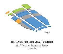 Pricing And Seating Charts Santa Fe Chamber Music Festival