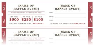 Draw Ticket Template How To Get A Free Raffle Ticket Template For Microsoft Word