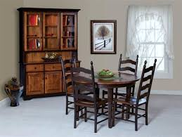 amish french country ladder back dining room chair