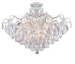 <b>Люстра Crystal Lux</b> Sevilia PL9 Silver, E14, 540 Вт — купить по ...