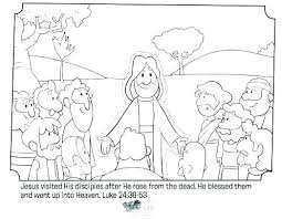 Easter Story Coloring Pages Printables Religious Coloring Sheets