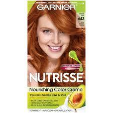 Garnier Nutrisse Permanent Hair Color 643 Light Natural Copper