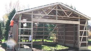 diy pole barns shed garage construction lp smartside you