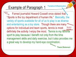 powered writing © the basic paragraph essay format  3 powered