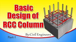 Civil Engineering Rcc Design Basic Design Of Rcc Column Part 1 Civil Engineering Videos