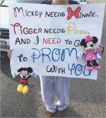 Clever Prom Proposals New My Disney Promposal Poster Prom Pinterest