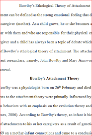 modifications of bowlbys attachment theory essay coursework  modifications of bowlbys attachment theory essay modifications of bowlbys attachment theory essay