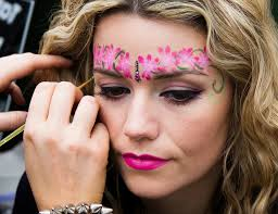 creative face art face painting