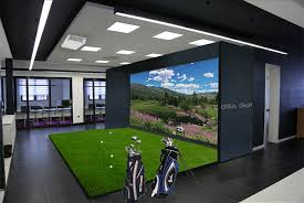 gsa golf fsr commercial show room golf simulators suitable for any show room environment