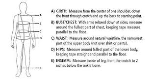 Costume Measurement Sheet Template How To Measure Curtain Call Costumes
