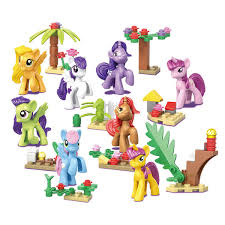 <b>2019 Hot</b> Princess Series <b>Building Blocks</b> Model My Little Horse ...